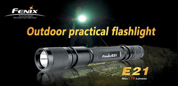 Fenix E 21 Portable Outdoor Flashlights India Portable