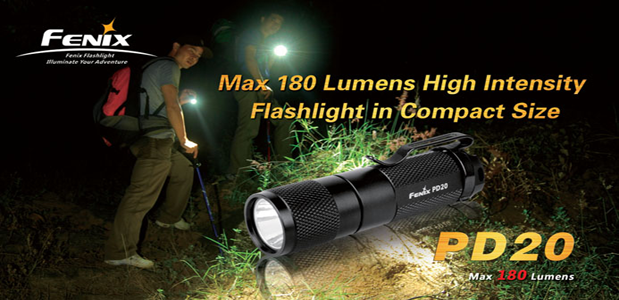 Fenix PD20 Lightweight LED Flashlights India, Lightweight ...