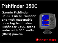 Garmin Fishfinder 350C, Echosounders in India