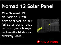 Nomad 13 Solar Panel in Southindia, Chennai, Bangalore, Kerala