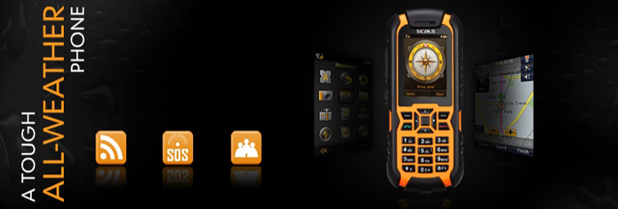 Rugged Android Phones,Mobile Phones,Waterproof,Concrete