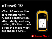 Garmin eTrex 10 India