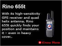 Garmin Two Way Communication Radio Rino 655t